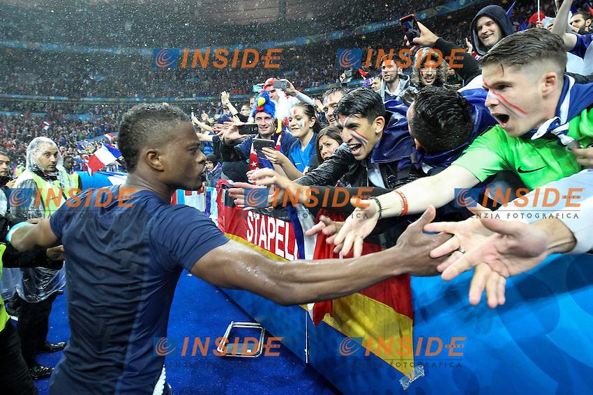 Patrice Evra of France <br /> Paris 03-07-2016 Stade de France Football Euro2016 France - Iceland / Francia - Islanda Quarter finals <br /> Foto Daniel Chesteron / Panoramic / Insidefoto