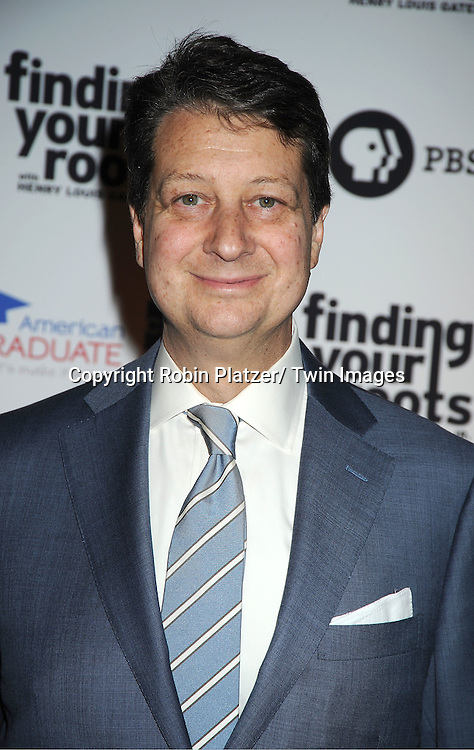 """Neal Shapiro rattends the PBS""""s Finding Your Roots with Henry Louis Gates, Jr  Premiere screening   at The Allen Room at Frederick P Rose Hall in New York City on March 19, 2012."""