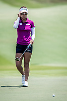 Jenny Shin of Korea in act during day 4 of HSBC Women's World Championship 2018 at Sentosa Golf Club, Sentosa,, Singapore, on 4  March 2018, Singapore.  Photo by : Ike Li / Prezz Images