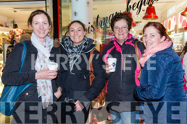 At the CH Chemist  annual customers night on Friday were Maureen Canty, Siobhan Casey, Marion Hussey, Kate O'Connell