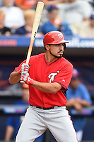 Washington Nationals third baseman Anthony Rendon (6) during a spring training game against the New York Mets on March 27, 2014 at Tradition Field in St. Lucie, Florida.  Washington defeated New York 4-0.  (Mike Janes/Four Seam Images)