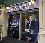 "Theatre Marquee unveiling for ""Harry Connick Jr. - A Celebration of Cole Porter"" at the Nederlander Theatre on November 25, 2019 in New York City."