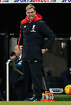 Jurgen Klopp manager of Liverpool gets angry on the touchline - English Premier League - Newcastle Utd vs Liverpool - St James' Park Stadium - Newcastle Upon Tyne - England - 6th December 2015 - Picture Simon Bellis/Sportimage