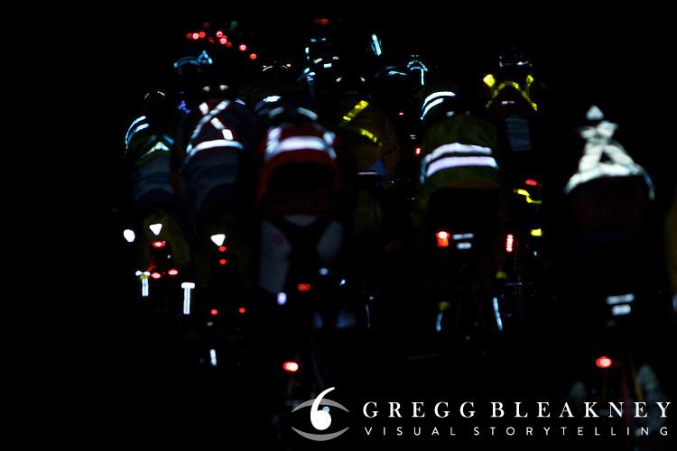Cyclists Participating Paris Brest Paris Endurance Event - Paris - France