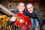 The Two Mikes who are realising their new album Bless The Broken Road in the Dromhall Hotel on the 2nd April