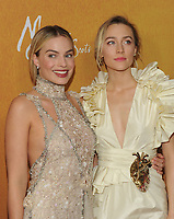 NEW YORK, NY - December 4: Margot Robbie and Saoirse Ronan attends the 'Mary Queen of Scots' New York Premiere at the Paris Theater on December 4, 2018 in New York City.<br /> CAP/MPI/JP<br /> &copy;JP/MPI/Capital Pictures