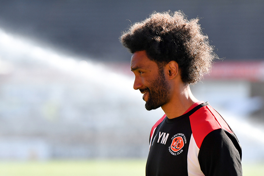 Fleetwood Towns Sports scientist Youl Maw&eacute;n&eacute;<br /> <br /> Photographer Terry Donnelly/CameraSport<br /> <br /> The EFL Sky Bet League One Play-Off Second Leg - Fleetwood Town v Bradford City - Sunday 7th May 2017 - Highbury Stadium - Fleetwood<br /> <br /> World Copyright &copy; 2017 CameraSport. All rights reserved. 43 Linden Ave. Countesthorpe. Leicester. England. LE8 5PG - Tel: +44 (0) 116 277 4147 - admin@camerasport.com - www.camerasport.com