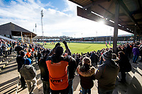 Picture by Allan McKenzie/SWpix.com - 11/02/2018 - Rugby League - Betfred Super League - Castleford Tigers v Widnes Vikings - the Mend A Hose Jungle, Castleford, England - Fans and supporters clap the teams onto the field prior to the match between Castleford & Widnes.