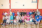 KDYS Summer Camp : Children aged 10 to 13 attending the KDYS summer camp held in the sports hall of St. Michael's College on Monday last.