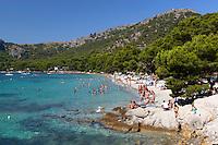 Spain, Mallorca, near Port de Pollenca: Platja (Playa) Formentor | Spanien, Mallorca, bei Port de Pollenca (Puerto Pollensa): Platja (Playa) Formentor