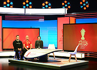 Picture by Simon Wilkinson/SWpix.com - 28/01/2019 - RLWC 2021 Rugby League World Cup Host City Reveal BBC Match of the Day Studio - Dock 10 Media City Salford<br />