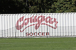 The Washington State soccer sign at the Lower Soccer Field on the WSU campus in Pullman, Washington.