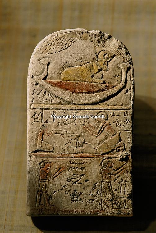 Limestone stela of Paka, Late Period