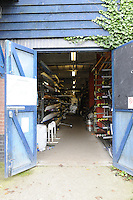 Chiswick, London, Great Britain, Putney Town Boat House, by Chiswick Bridge, on the River Thames Saturday 23/08/2008. [Photo, Peter Spurrier/Intersport-images] Equipment,