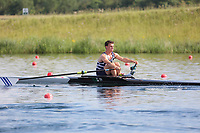Race: 83  Event: Single Sculls - Championship - Final<br /> <br /> National Schools Regatta 2018<br /> Sunday<br /> <br /> To purchase this photo, or to see pricing information for Prints and Downloads, click the blue 'Add to Cart' button at the top-right of the page. The Metropolitan Regatta 2018