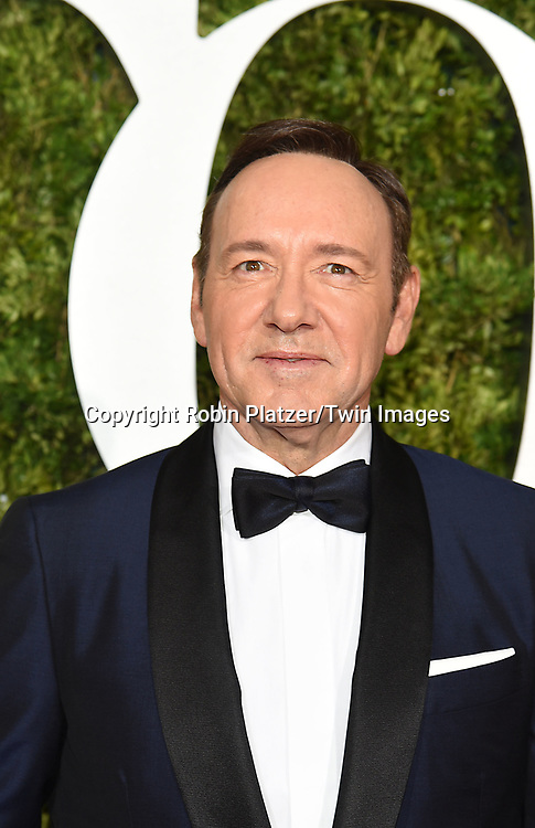Kevin Spacey attends the 71st Annual  Tony Awards on June 11, 2017 at Radio City Music Hall in New York, New York, USA.<br /> <br /> photo by Robin Platzer/Twin Images<br />  <br /> phone number 212-935-0770