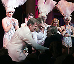 """Kelsey Grammer, Douglas Hodges & Jerry Herman<br />during the Broadway Opening Night Performance Curtain Call for  """"La Cage Aux Folles""""  at the Longacre Theatre in New York City.<br />April 18, 2010"""