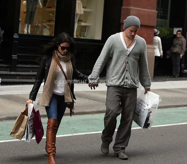 WWW.ACEPIXS.COM . . . . .  ....April 28 2010, New York City....Actor Channing Tatum and his wife actress Jenna Dewan spotted shopping in Soho on April 28 2010 in New York City....Please byline: PHILIP VAUGHAN - ACE PICTURES.... *** ***..Ace Pictures, Inc:  ..Philip Vaughan (212) 243-8787 or (646) 679 0430..e-mail: info@acepixs.com..web: http://www.acepixs.com