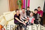 Brid Courtney, Ardfert, who won a national essay competition with video  'Someone Like Me' Pictured here with family Ailbhe, Brendan, Darragh, Deirdre and Iarla Courtney