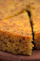 Europe/Chypre/Env de Polis : Gâteau de semoule à l'orange - Un des desserts chypriotes de l'Anassa Hôtel