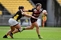 Larissa Lima of Counties Manukau in action during the Farah Palmer Cup - Wellington Pride v Counties Heat at Westpac Stadium, Wellington, New Zealand on Sunday 15 September 2019. <br /> Photo by Masanori Udagawa <br /> www.photowellington.photoshelter.com