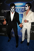 LOS ANGELES, CA - OCTOBER 21: Maksim Chmerkovskiy, Valentin Chmerkovskiy, at 2017 MAXIM Halloween Party at LA Center Studios in Los Angeles, California on October 21, 2017. Credit: Faye Sadou/MediaPunch /NortePhoto.com