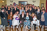 40TH: Laura Jones of Marian Park (seated second from right) celebrating her 40th birthday in The Greyhound Bar, Tralee, on Saturday evening, along with family and friends..