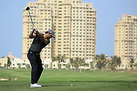Antoine Rozner (FRA) during round 2, Ras Al Khaimah Challenge Tour Grand Final played at Al Hamra Golf Club, Ras Al Khaimah, UAE. 01/11/2018<br /> Picture: Golffile | Phil Inglis<br /> <br /> All photo usage must carry mandatory copyright credit (&copy; Golffile | Phil Inglis)