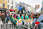 At  the  St Patrick's Day Parade on Thursday were Tralee Equestrian Centre and Tack Shop