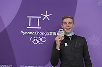 OLYMPIC GAMES: PYEONGCHANG: 24-02-2018, Gangneung Oval, Long Track, Mass Start Men, Silver medalist Bart Swings (BEL), ©photo Martin de Jong