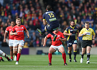 Clermont Auvergne's Maro Itoje<br /> <br /> Photographer Rachel Holborn/CameraSport<br /> <br /> European Rugby Champions Cup Final - Clermont Auvergne v Saracens - Saturday 13th May 2017 - BT Murrayfield, Edinburgh<br /> <br /> World Copyright &copy; 2017 CameraSport. All rights reserved. 43 Linden Ave. Countesthorpe. Leicester. England. LE8 5PG - Tel: +44 (0) 116 277 4147 - admin@camerasport.com - www.camerasport.com