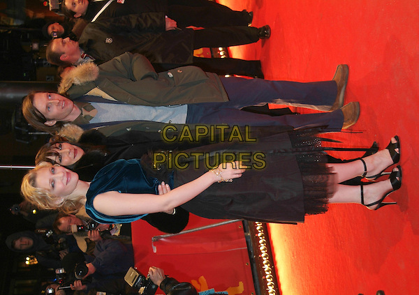 "CATE BLANCHETT, ANJELICA HOUSTON & WES ANDERSON.At Premiere of ""The Life Aquatic"".Berlin International Film Festival,.Berlin, Germany, February16th 2005..full length red carpet.Ref: KRA.www.capitalpictures.com.sales@capitalpictures.com.©Capital Pictures."