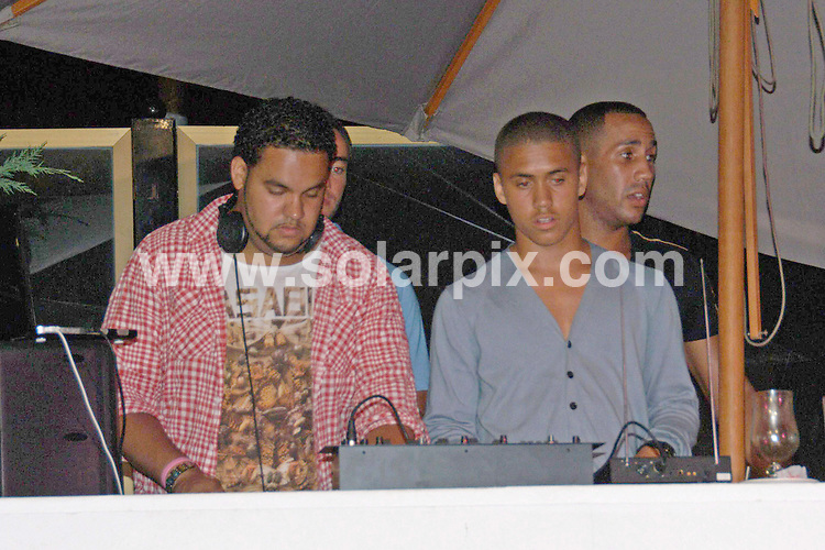 **ALL ROUND PICTURES FROM SOLARPIX.COM**.**WORLDWIDE SYNDICATION RIGHTS**.pictures from the music television channel MTV party that took place at Pangea, Marbella on Spain's Costa del Sol. 31 July 2010.This pic: Chipmunk and James de Gale..JOB REF: 11818 GBH      DATE: 31_07_2010.**MUST CREDIT SOLARPIX.COM OR DOUBLE FEE WILL BE CHARGED**.**MUST NOTIFY SOLARPIX OF ONLINE USAGE**.**CALL US ON: +34 952 811 768 or LOW RATE FROM UK 0844 617 7637**