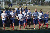 USMNT Training, January 25, 2015