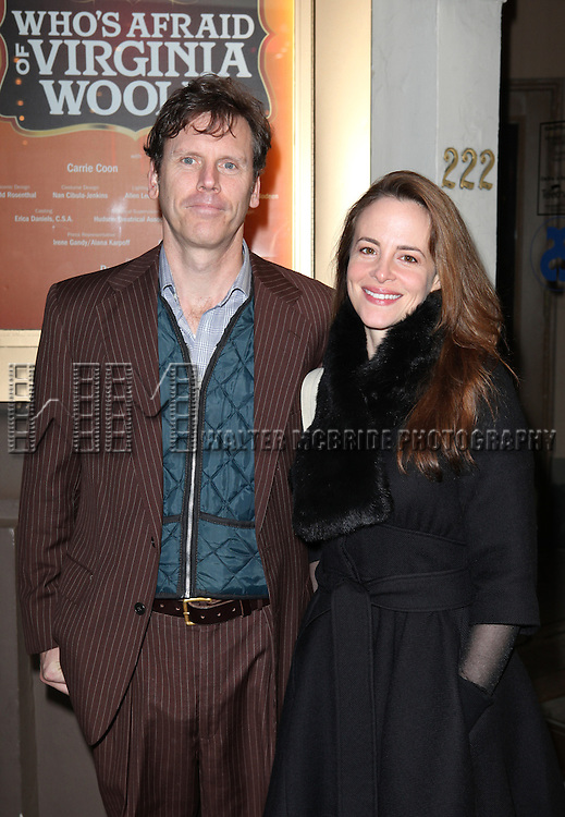 Will Eno attending the Opening Night Performance of Edward Albee's 'Who's Afraid of Virginia Woolf?' at the Booth Theatre on October 13, 2012 in New York City.