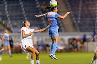 Chicago, IL - Saturday July 30, 2016: Mandy Laddish, Vanessa DiBernardo during a regular season National Women's Soccer League (NWSL) match between the Chicago Red Stars and FC Kansas City at Toyota Park.