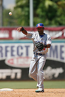May 14 2009: Michael Richard of the Stockton Ports during game against the Inland Empire 66'ers at Arrowhead Credit Union Park in San Bernardino,CA.  Photo by Larry Goren/Four Seam Images