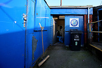 Macclesfield Town groundsman room during Macclesfield Town vs Kingstonian, Emirates FA Cup Football at the Moss Rose Stadium on 10th November 2019