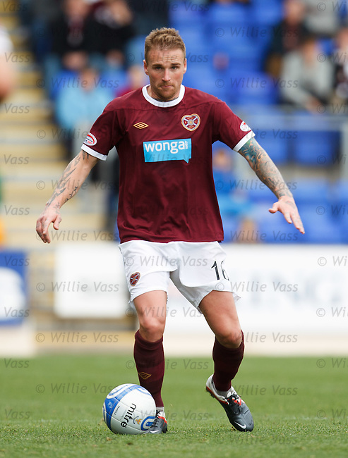Ryan Stevenson, Hearts