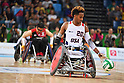 Josh Brewer (USA), <br /> SEPTEMBER 16, 2016 - WheelChair Rugby : <br /> Preliminary Round Group B match Japan 56-57 USA <br /> at Carioca Arena 1<br /> during the Rio 2016 Paralympic Games in Rio de Janeiro, Brazil.<br /> (Photo by AFLO SPORT)