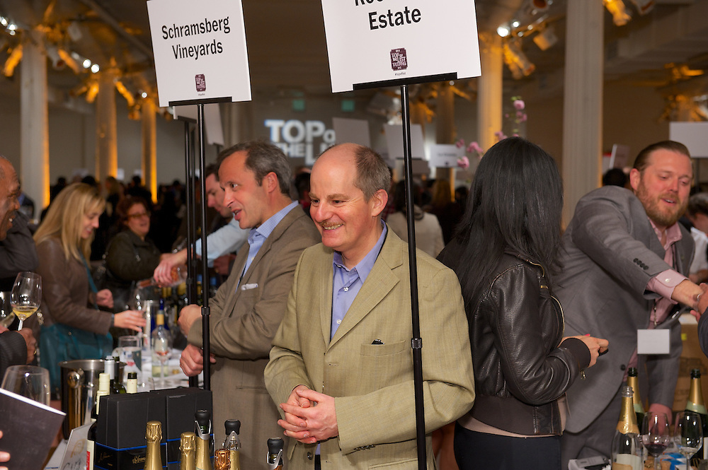 Wine tasting event at Metropolitan Pavilion in NY sponsored by Wine & Spirits Magazine