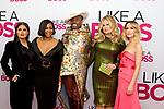 Cast of Like A Boss film Salma Hayek, Tiffany Haddish, Billy Porter, Jennifer Coolidge and Rose Bryne at Like A Boss pink carpet movie premiere NYC