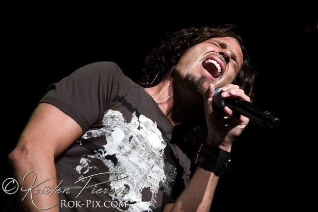 Chris Cornell performs at Projekt Revolution July 16 2008 at Comcast Center, Mansfield, Massachusetts.