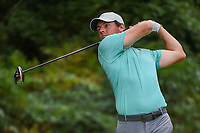Rory McIlroy (NIR) watches his tee shot on 13 during round 2 of the 2019 Tour Championship, East Lake Golf Course, Atlanta, Georgia, USA. 8/23/2019.<br /> Picture Ken Murray / Golffile.ie<br /> <br /> All photo usage must carry mandatory copyright credit (© Golffile | Ken Murray)