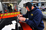 Feb 11, 2010; 4:48:59 PM; Barberville, FL., USA; The UNOH sponsored World of Outlaws event running the 39th Annual DIRTCar Nationals at Volusia Speedway Park.  Mandatory Credit: (thesportswire.net)