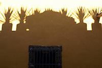 Shadows on a wall in San Miguel de Allende, Mexico