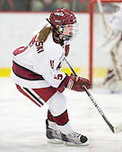 Kelsey Romatoski (Harvard - 5) - The Harvard University Crimson defeated the Northeastern University Huskies 1-0 to win the 2010 Beanpot on Tuesday, February 9, 2010, at the Bright Hockey Center in Cambridge, Massachusetts.