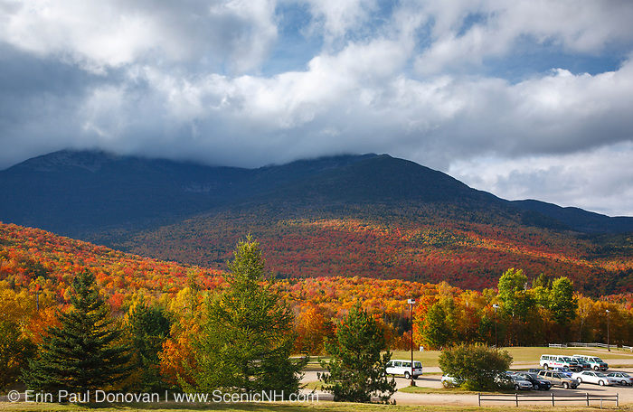 Mount Washington Valley - Pinkham Notch in Green's Grant, New Hampshire during the autumn months.