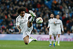 Real Madrid´s Marcelo during La Liga match at Santiago Bernabeu stadium in Madrid, Spain. March 15, 2015. (ALTERPHOTOS/Victor Blanco)