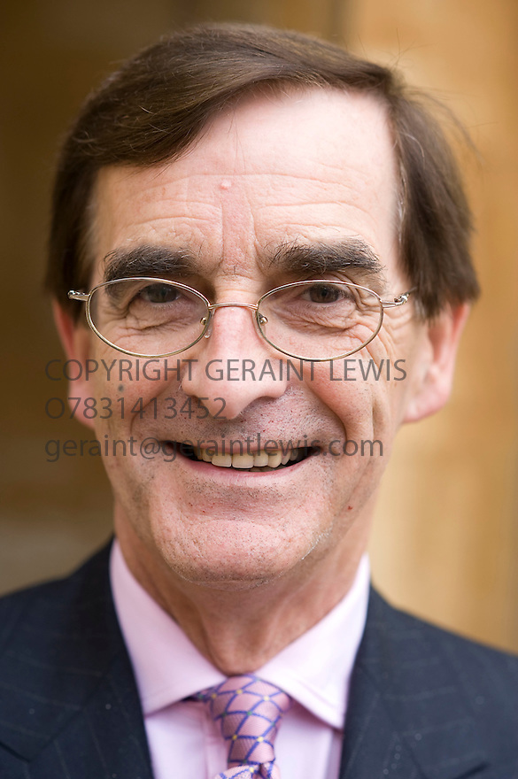 David Watkin, Cambridge Fellow of the.History of Architecture, ,writer at The Woodstock  Literary Festival in Oxfordshire  2011. . Credit Geraint Lewis